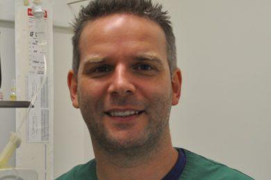 Dierenarts-anesthesist Koen Piron